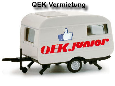 saison 2014 mieten sie unseren qek junior wohnwagen. Black Bedroom Furniture Sets. Home Design Ideas
